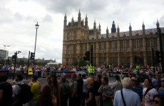 Blake Cottage Campain at the Houses of Parliament