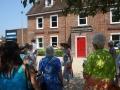 Beryl Kingston Explaining where the stables were
