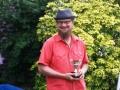 Richard Biddle winning William Blake Poetry Prize