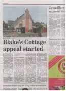Blake's Cottage Appeal Started